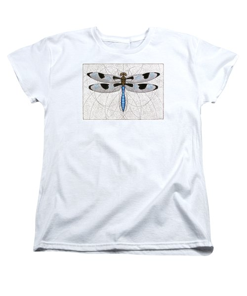 Twelve Spotted Skimmer Women's T-Shirt (Standard Cut) by Charles Harden