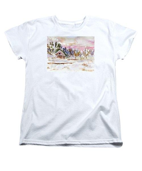 Twilight Serenade I Women's T-Shirt (Standard Cut) by Xueling Zou