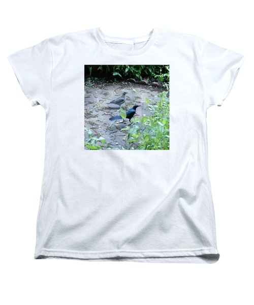 Two Birds Women's T-Shirt (Standard Cut) by Felipe Adan Lerma