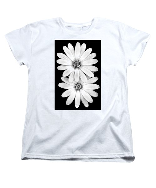Two Flowers Women's T-Shirt (Standard Cut) by Az Jackson