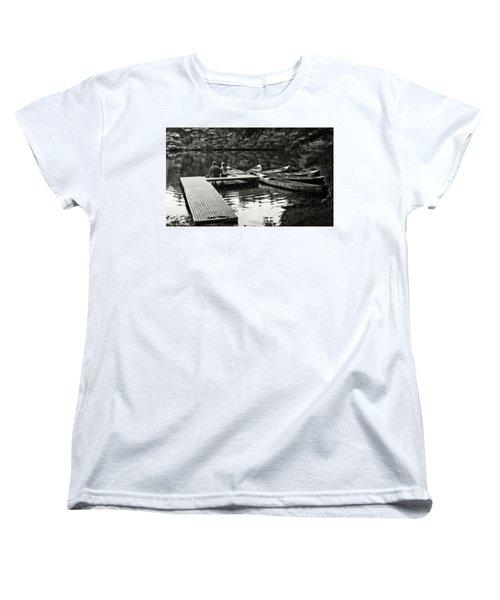 Two In A Boat Women's T-Shirt (Standard Cut) by Alex Galkin