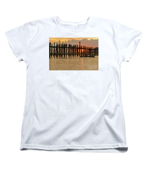 U-bein Bridge Women's T-Shirt (Standard Cut) by Werner Padarin