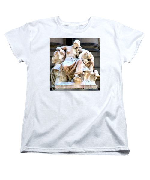 U S Custom House 3 Women's T-Shirt (Standard Cut) by Randall Weidner