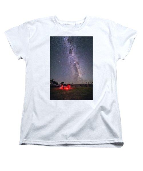 Under Southern Stars Women's T-Shirt (Standard Cut)