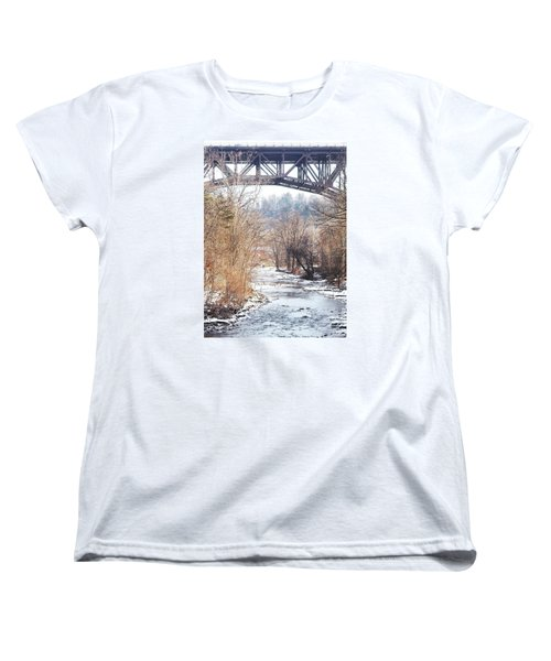 Under The Arch Women's T-Shirt (Standard Cut) by Ellen Levinson