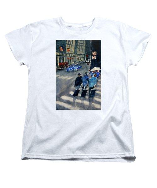 Union Square1 Women's T-Shirt (Standard Cut) by Tom Simmons