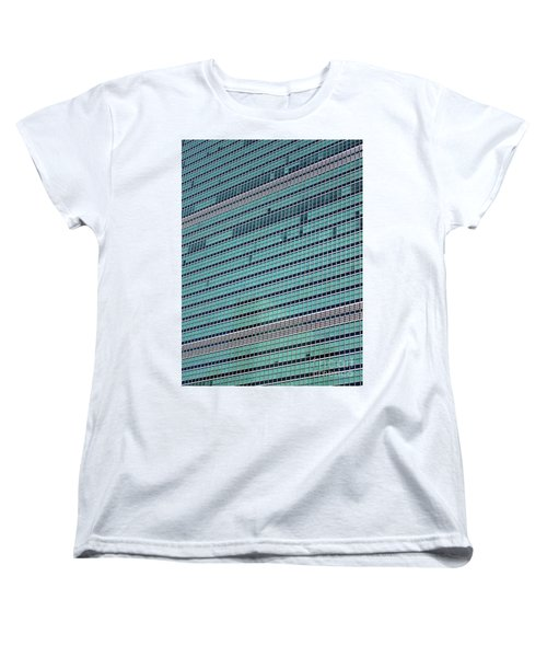 Women's T-Shirt (Standard Cut) featuring the photograph United Nations 2 by Randall Weidner