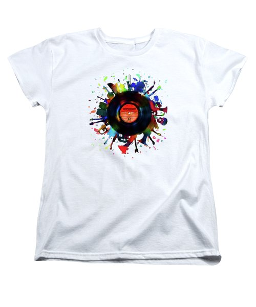 Unplugged Women's T-Shirt (Standard Cut) by Mustafa Akgul