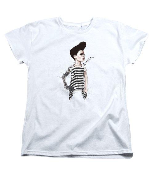 untitled II Women's T-Shirt (Standard Cut) by Balazs Solti