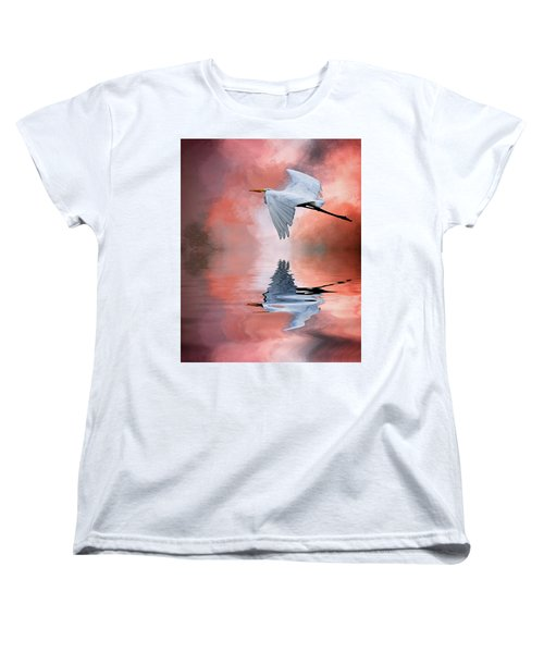 Up. Up And Away Women's T-Shirt (Standard Cut) by Cyndy Doty
