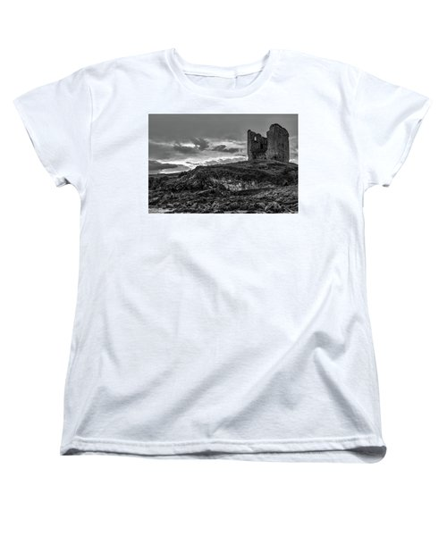 Upcomming Myth Bw #e8 Women's T-Shirt (Standard Cut) by Leif Sohlman