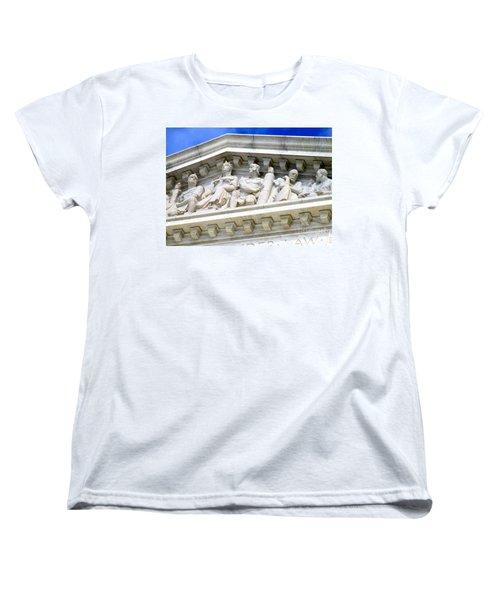 Us Supreme Court 4 Women's T-Shirt (Standard Cut) by Randall Weidner