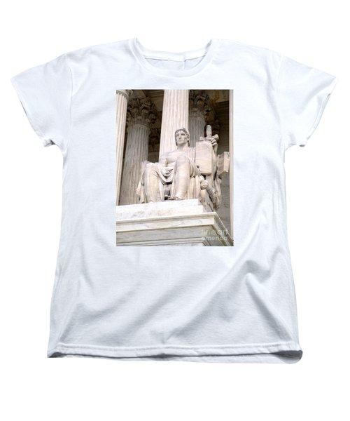 Us Supreme Court 8 Women's T-Shirt (Standard Cut) by Randall Weidner