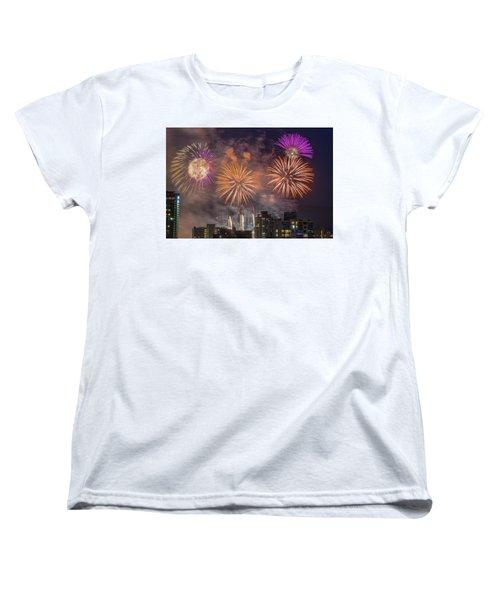 Usa 1 Women's T-Shirt (Standard Cut) by Ross G Strachan