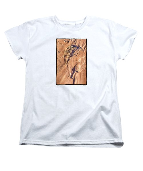 Women's T-Shirt (Standard Cut) featuring the photograph Utah Sand by R Thomas Berner