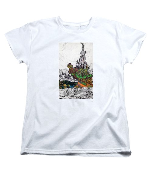 V Ogh 8 Women's T-Shirt (Standard Cut) by Stan  Magnan