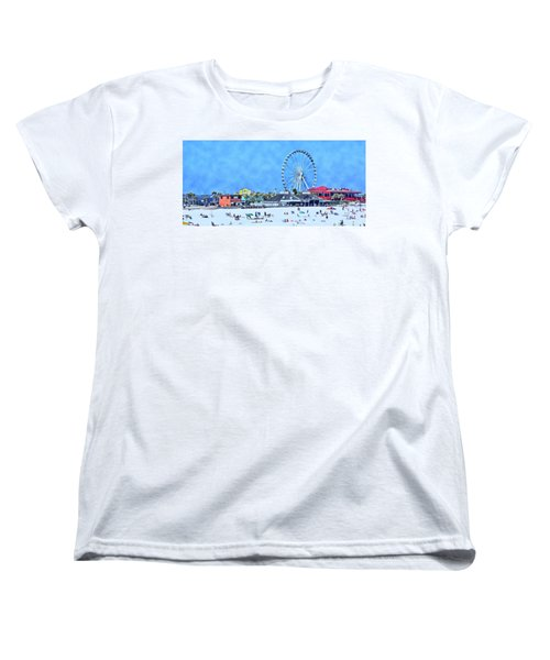 Vacation Women's T-Shirt (Standard Cut) by Kathy Bassett