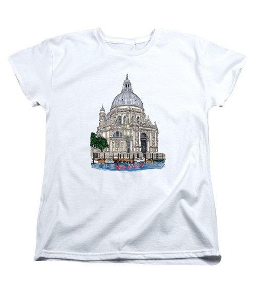 Venice  Women's T-Shirt (Standard Cut) by Andrzej Szczerski