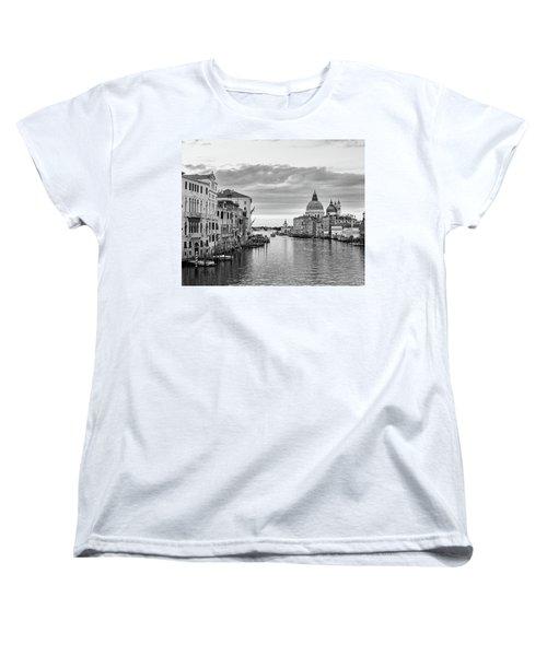 Venice Morning Women's T-Shirt (Standard Cut) by Richard Goodrich