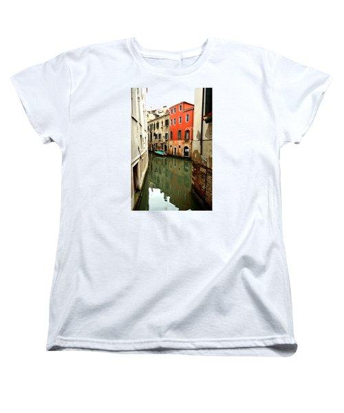 Venice Street Scene 3 Women's T-Shirt (Standard Cut) by Richard Ortolano