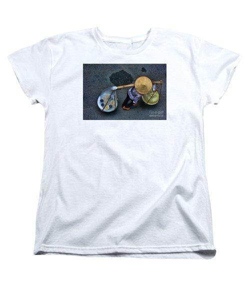 Vietnamese Woman Work Women's T-Shirt (Standard Cut) by Chuck Kuhn