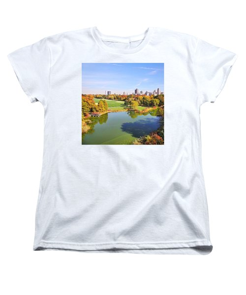 View From The Top  Women's T-Shirt (Standard Cut) by Charlie Cliques