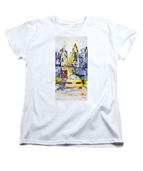 View To Manhattan Women's T-Shirt (Standard Cut)