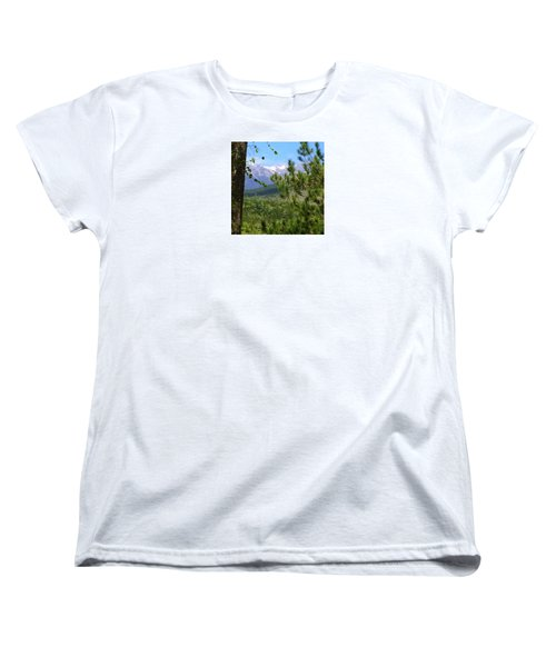 Views Of Katahdin Women's T-Shirt (Standard Cut) by Robin Regan