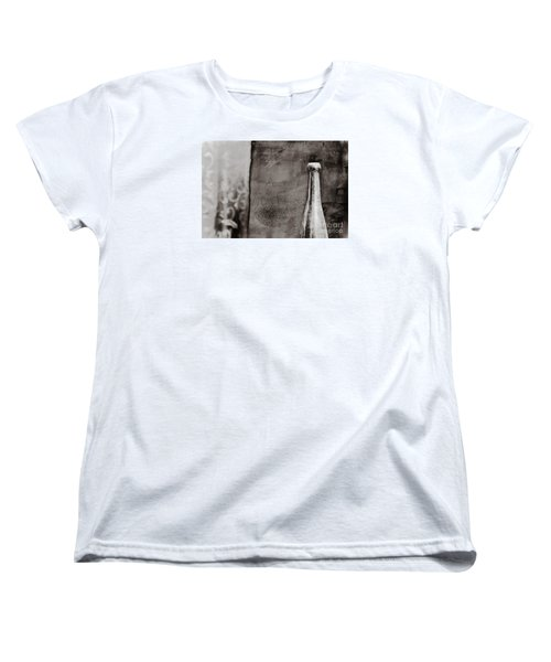 Women's T-Shirt (Standard Cut) featuring the photograph Vintage Beer Bottle by Andrey  Godyaykin