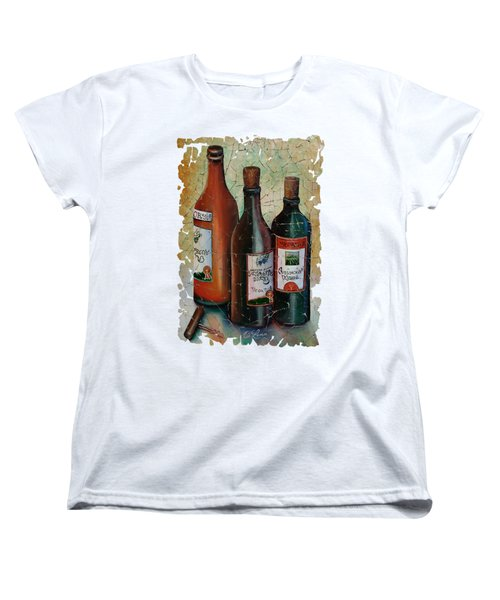 Vintage Georgian Wine Fresco Women's T-Shirt (Standard Cut) by Lena  Owens OLena Art