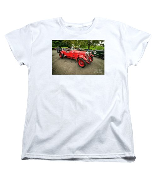 Women's T-Shirt (Standard Cut) featuring the photograph Vintage Motors by Adrian Evans