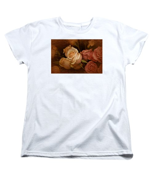 Vintage Roses March 2017 Women's T-Shirt (Standard Cut) by Richard Cummings