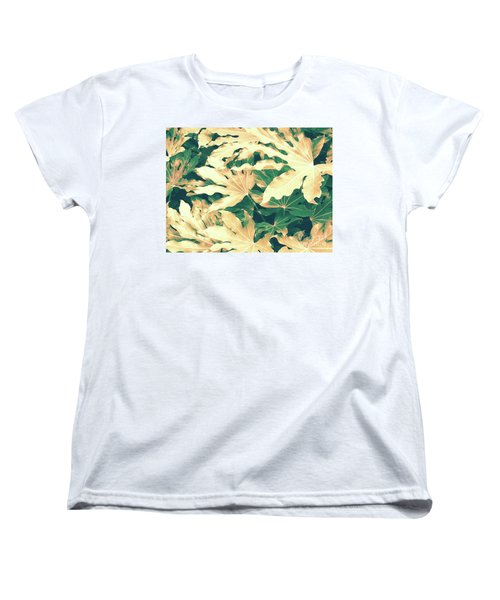 Vintage Season Gold Women's T-Shirt (Standard Cut) by Rebecca Harman