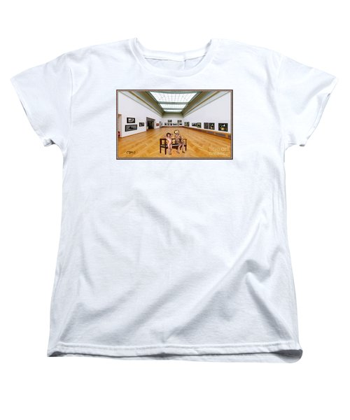Virtual Exhibition - 32 Women's T-Shirt (Standard Cut) by Pemaro