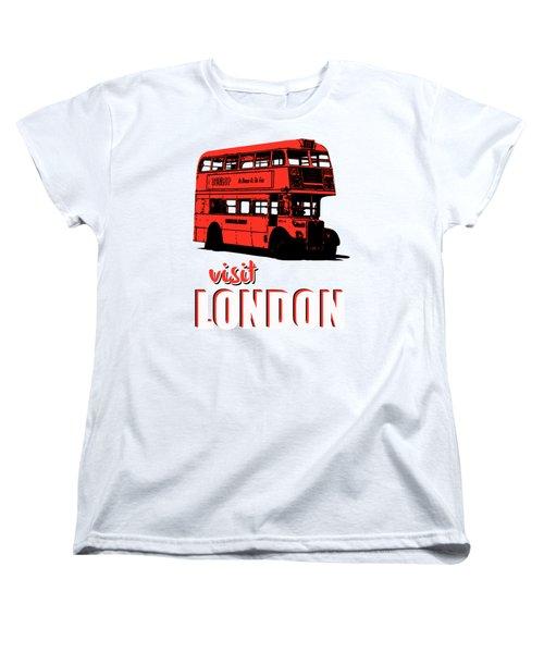 Visit London Tee Women's T-Shirt (Standard Cut)
