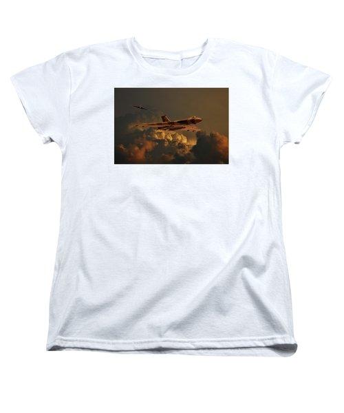 Vulcan Bombers Into The Storm Women's T-Shirt (Standard Cut) by Ken Brannen