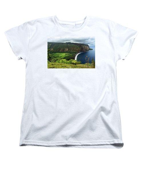 Waipio Valley Women's T-Shirt (Standard Cut) by James Eddy