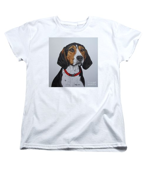 Walker Coonhound - Cooper Women's T-Shirt (Standard Cut) by Megan Cohen