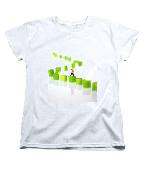 Walking On Celery  Women's T-Shirt (Standard Cut) by Paul Ge