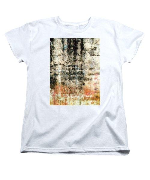 Wall Abstract 182 Women's T-Shirt (Standard Cut) by Maria Huntley