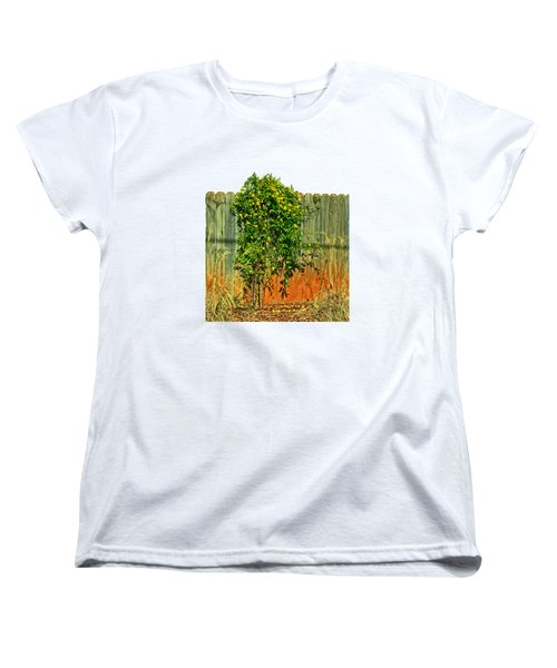 Wall Of Jasmine Women's T-Shirt (Standard Cut) by Larry Bishop