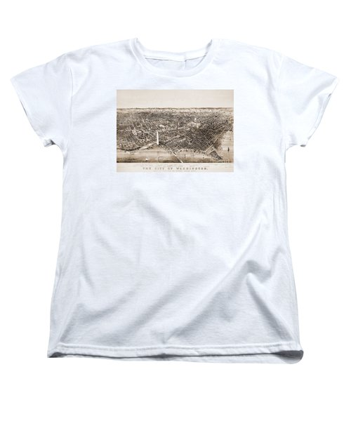 Washington D.c., 1892 Women's T-Shirt (Standard Cut) by Granger