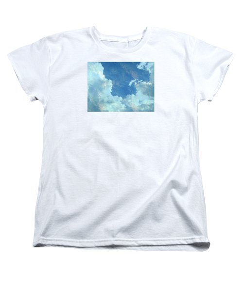 Water Clouds Women's T-Shirt (Standard Cut) by Robin Regan