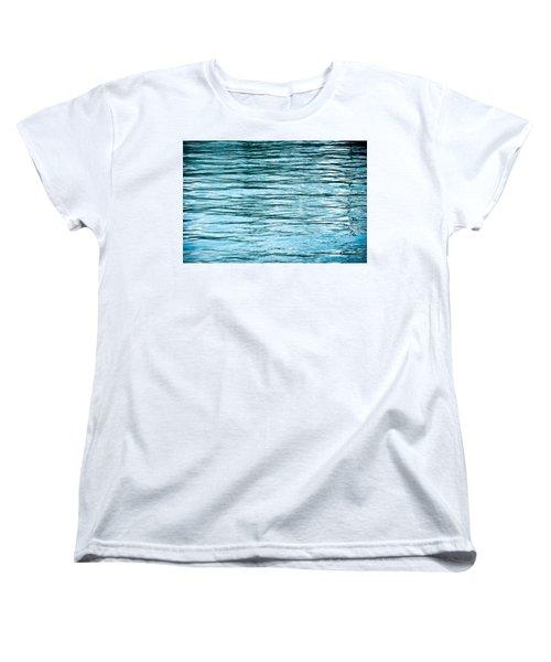 Water Flow Women's T-Shirt (Standard Cut) by Steve Gadomski