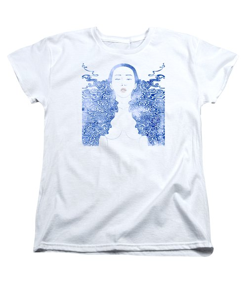 Water Nymph Lxxx Women's T-Shirt (Standard Cut) by Stevyn Llewellyn