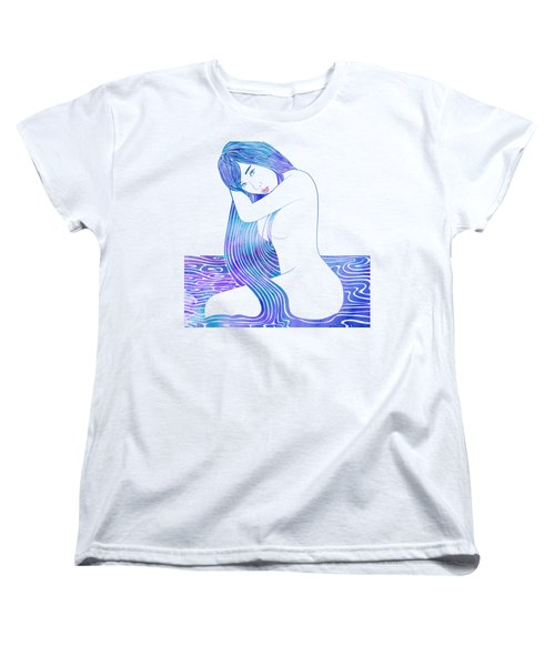 Water Nymph Lxxxii Women's T-Shirt (Standard Cut) by Stevyn Llewellyn