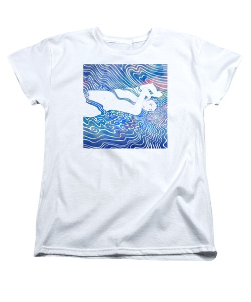 Water Nymph Lxxxiii Women's T-Shirt (Standard Cut) by Stevyn Llewellyn
