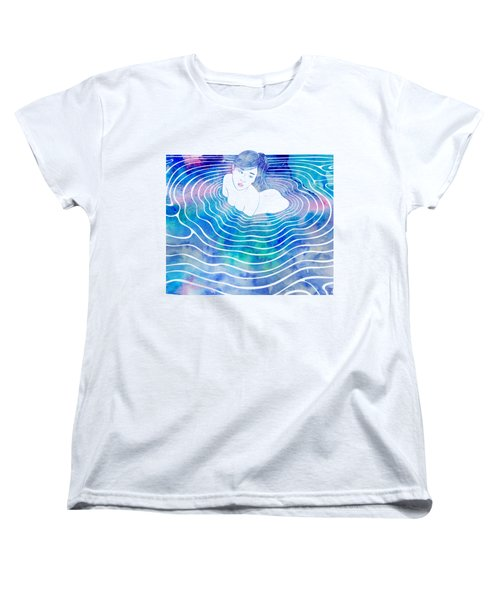 Water Nymph Lxxxix Women's T-Shirt (Standard Cut) by Stevyn Llewellyn