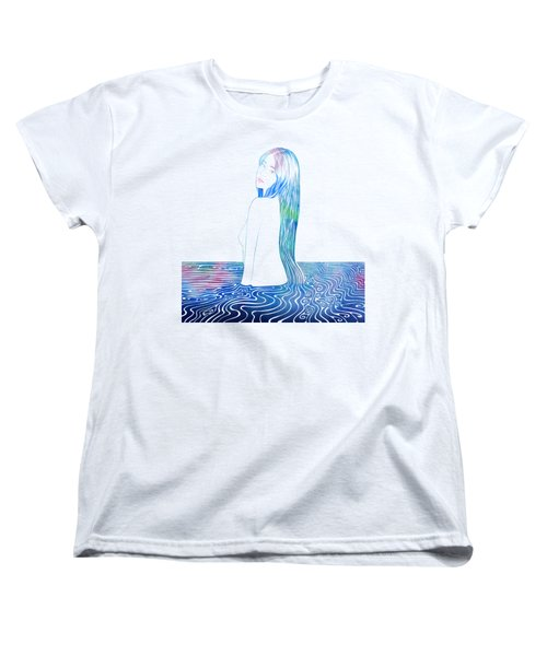 Water Nymph Lxxxv Women's T-Shirt (Standard Cut) by Stevyn Llewellyn