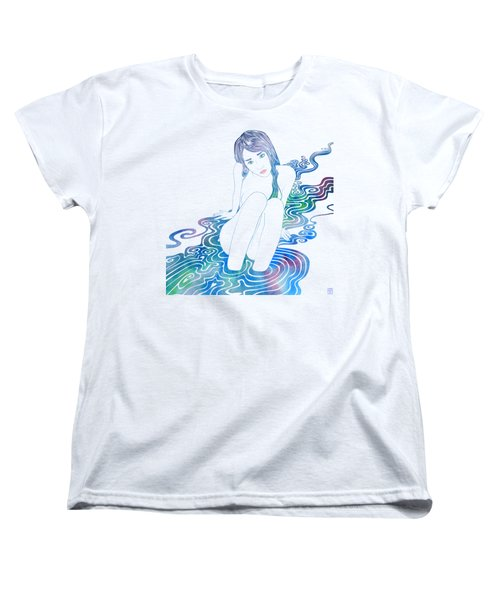 Water Nymph Lxxxvi Women's T-Shirt (Standard Cut) by Stevyn Llewellyn